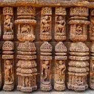 Konark. Suria Temple. Stone carving detail (c)inditrip.net