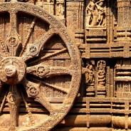 Konark. Suria Ratha Wheel (c)inditrip.net