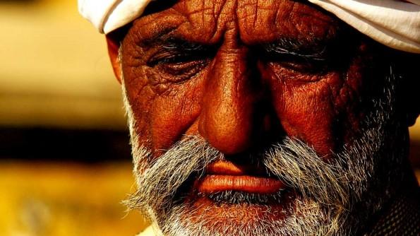 Лица Варанаси. Старик-мусульманин (c)inditrip.net