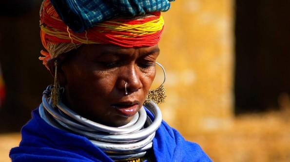 Женщина племени бонда. Индия, Орисса (c)inditrip.net