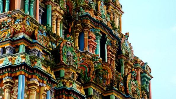 Чидамбарам, восточный гопурам. Тамил Наду. Индия (c)inditrip.net