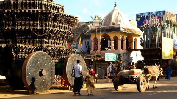 Храмовая колесница в Чидамбараме. Тамил Наду. Индия (c)inditrip.net