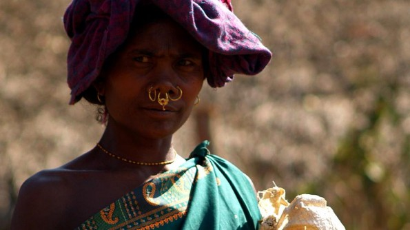 Konda lady in Chaticona. India, Orissa, Rayagada district.  (c)inditrip.net