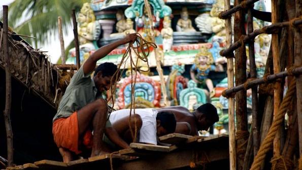 Кумбаконам, храмовые приготовления. Тамил Наду. Индия. (c)inditrip.net