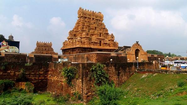 Brihandishwara Mandir in Thajavur. Tamil Nadu. India (c)inditrip.net