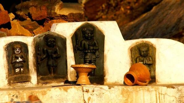 Village sanktum. Sisarma, Rajasthan. India. (c)inditrip.net