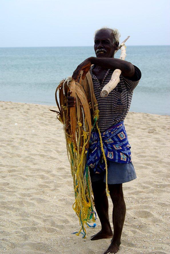 Tamil fisher. Dhanushkodi. (с) inditrip.net